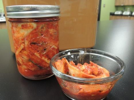 Free stock photo of fermentation, kimchi, korean food, fermented food