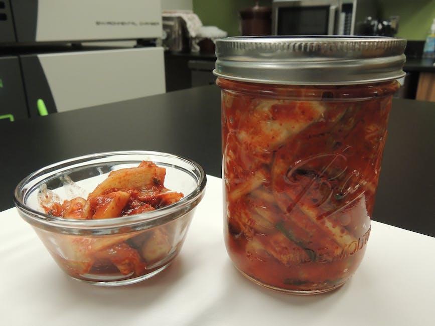 fermentation, fermented food, kimchi