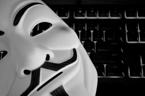 Photos gratuites de anonyme, clavier, guy fawkes, hacker