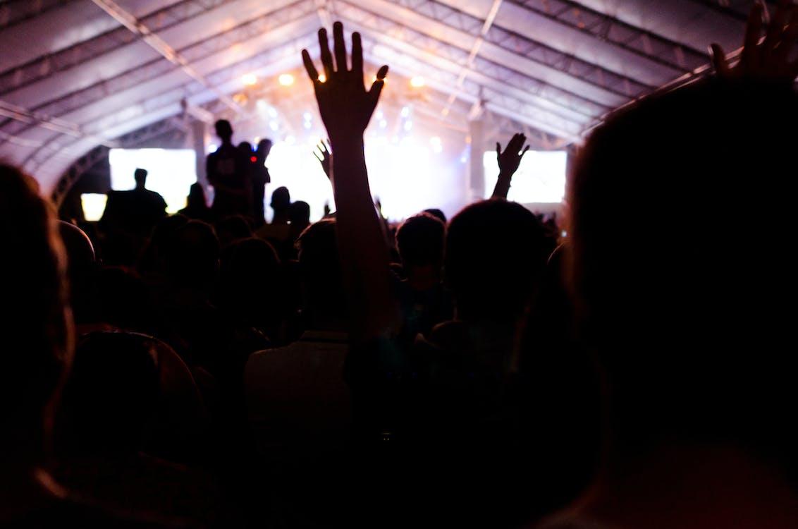 etap, koncert, ludzie