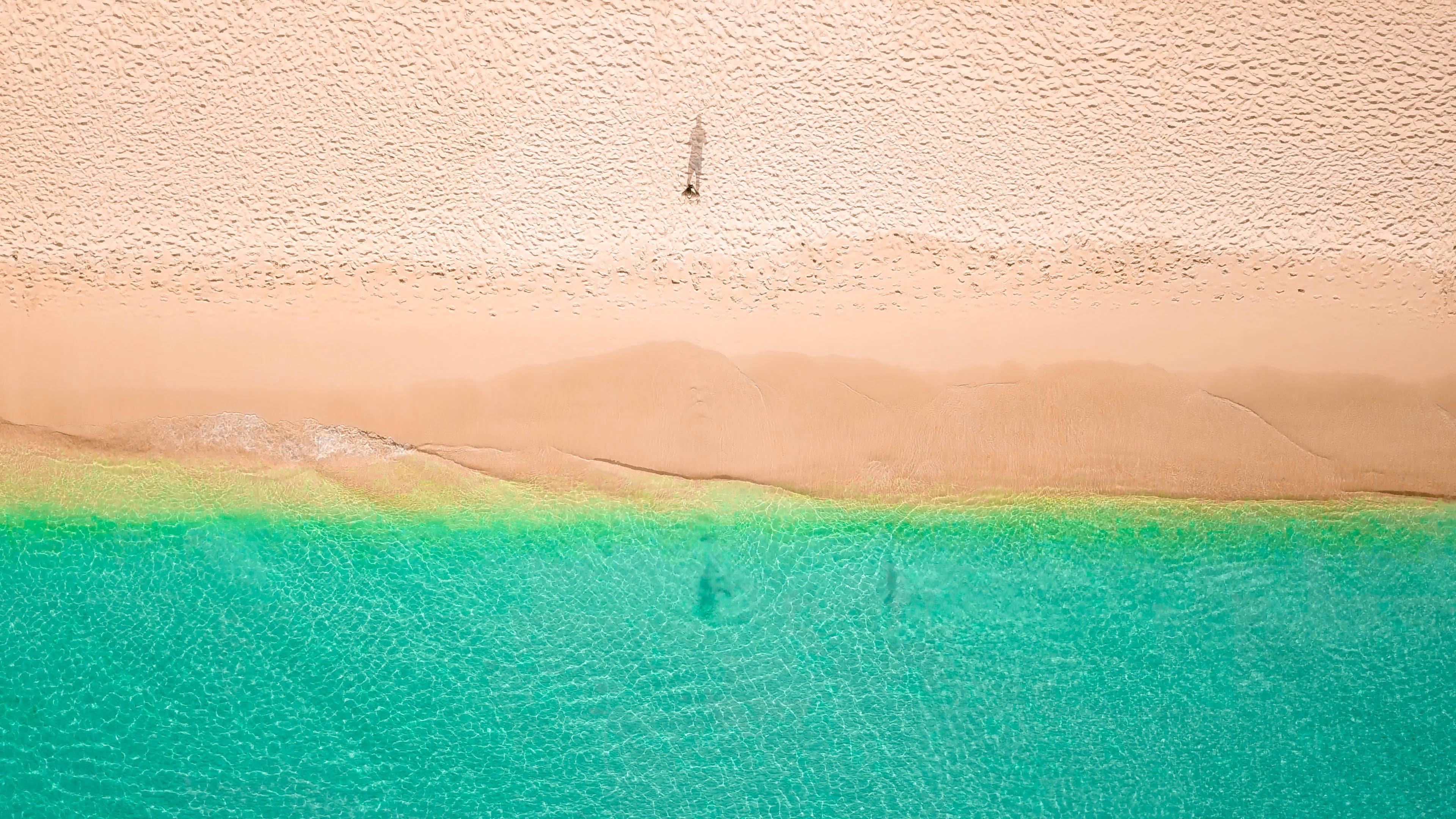 Gratis lagerfoto af bølger, dagtimer, droneoptagelse, fugleperspektiv
