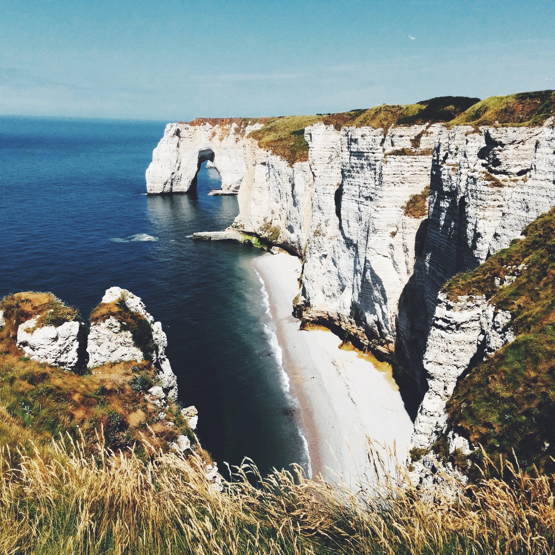 Fotos de stock gratuitas de agua, etretat, litoral, mar