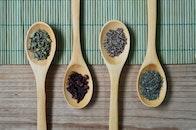 spoon, table, seasoning
