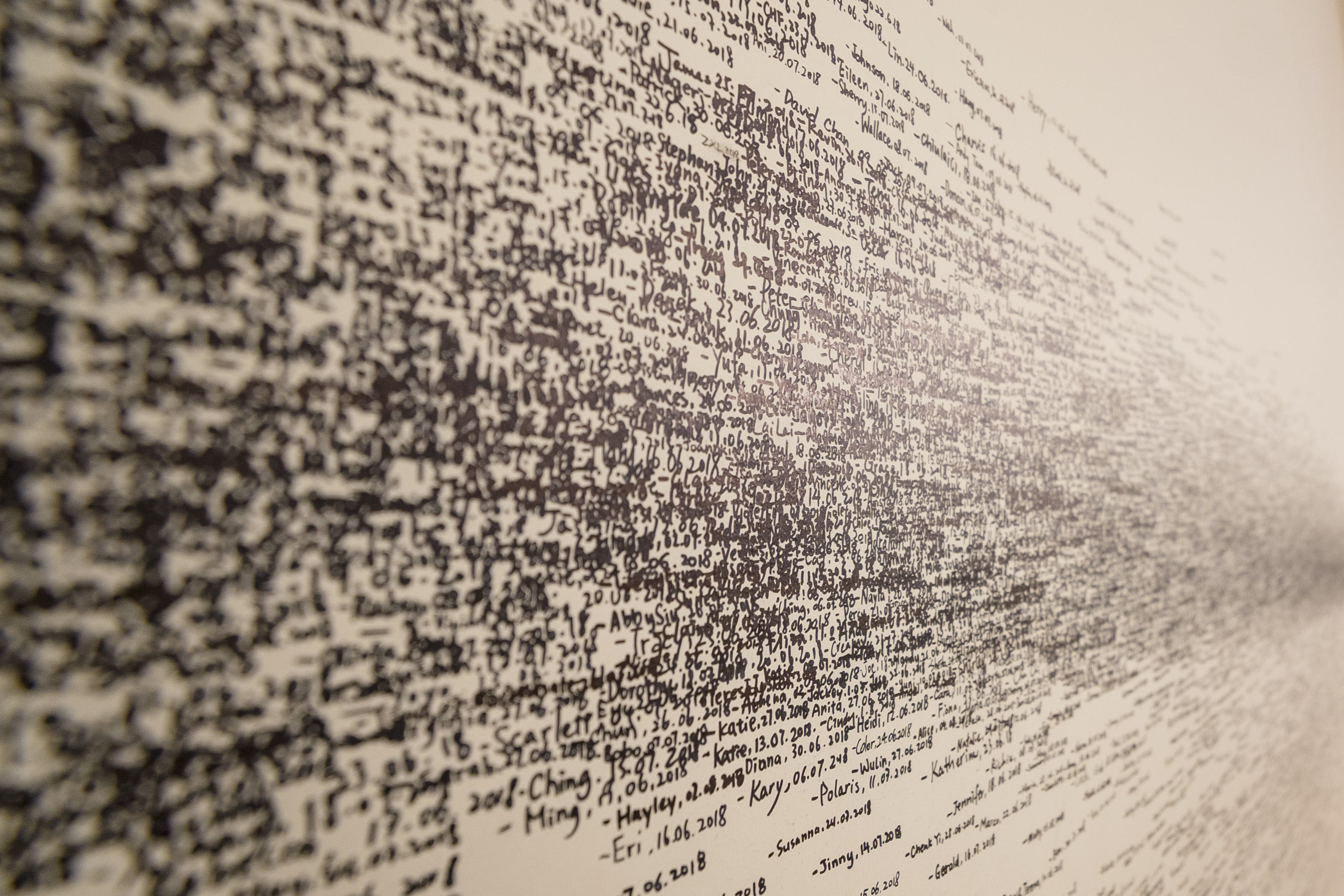 Scribbles On Wall