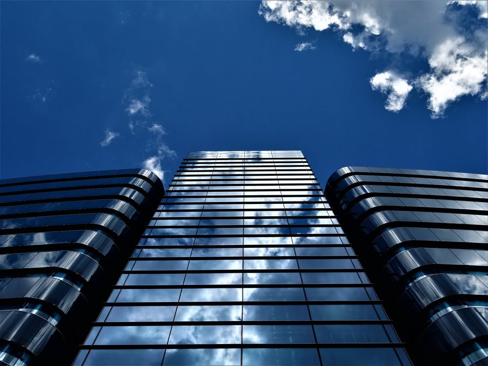 Low Angle Photography of Building Structure