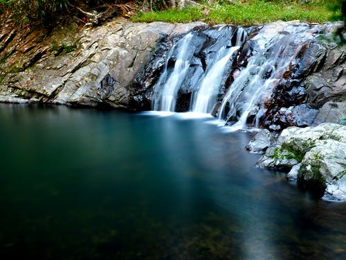 Бесплатное стоковое фото с водопад, гладкий, Голд-Кост, природа