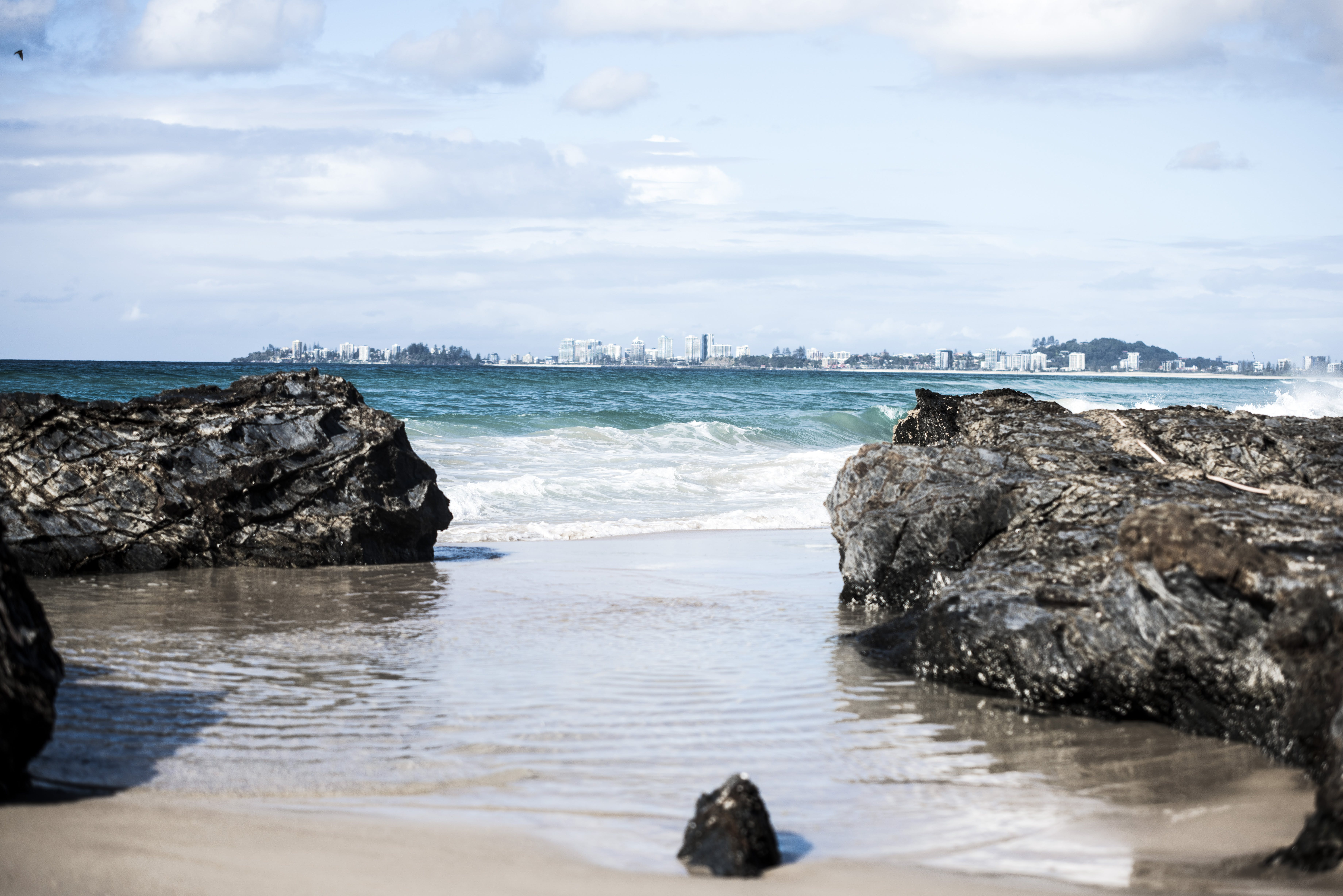 Free stock photo of beach, blue, by the sea, Gold Coast