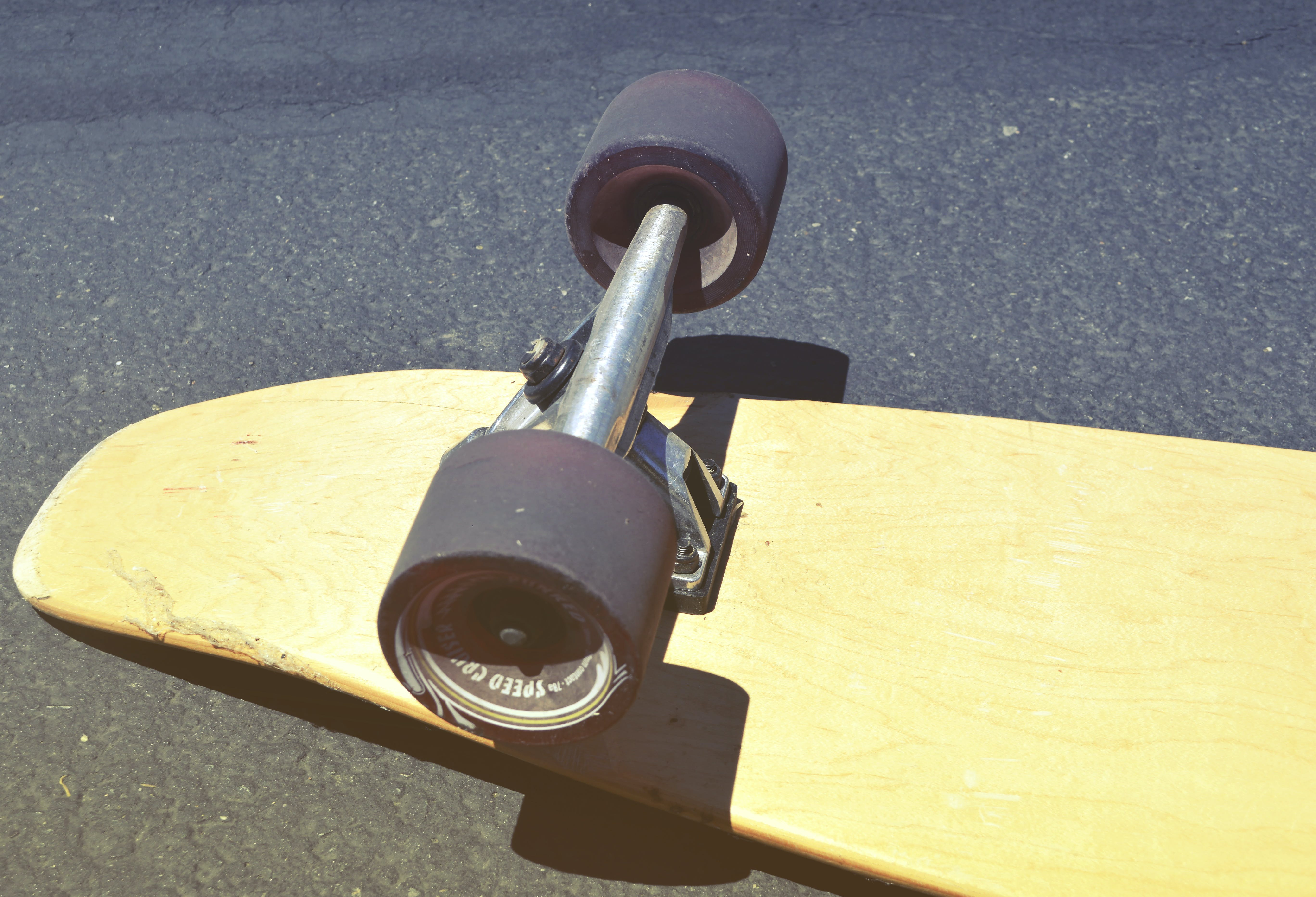 kayu, olahraga, permukaan beton
