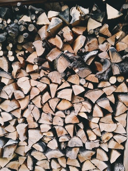 Brown and Grey Fire Wood