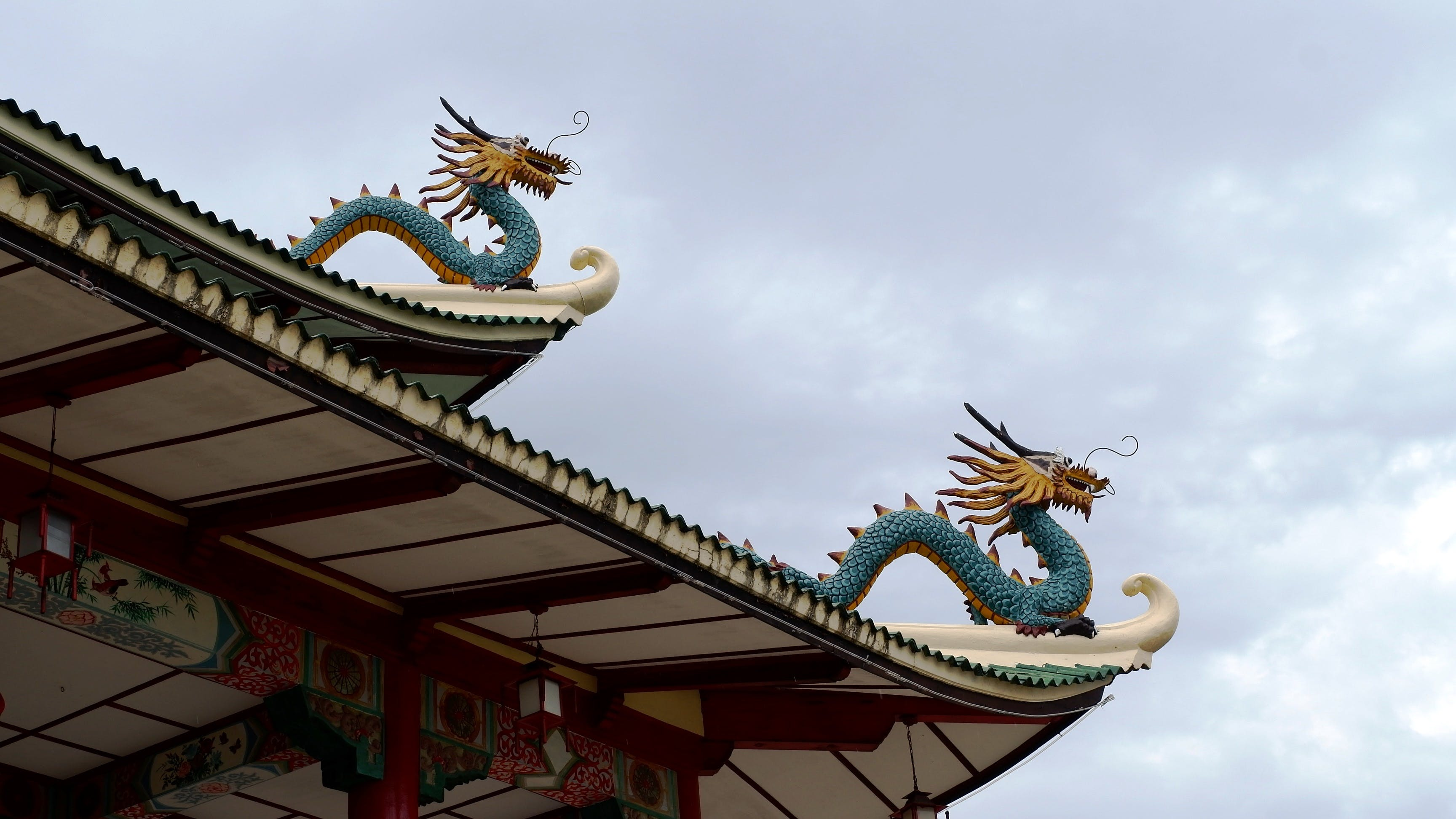 Free stock photo of dragon, Philippines, Taoist Temple