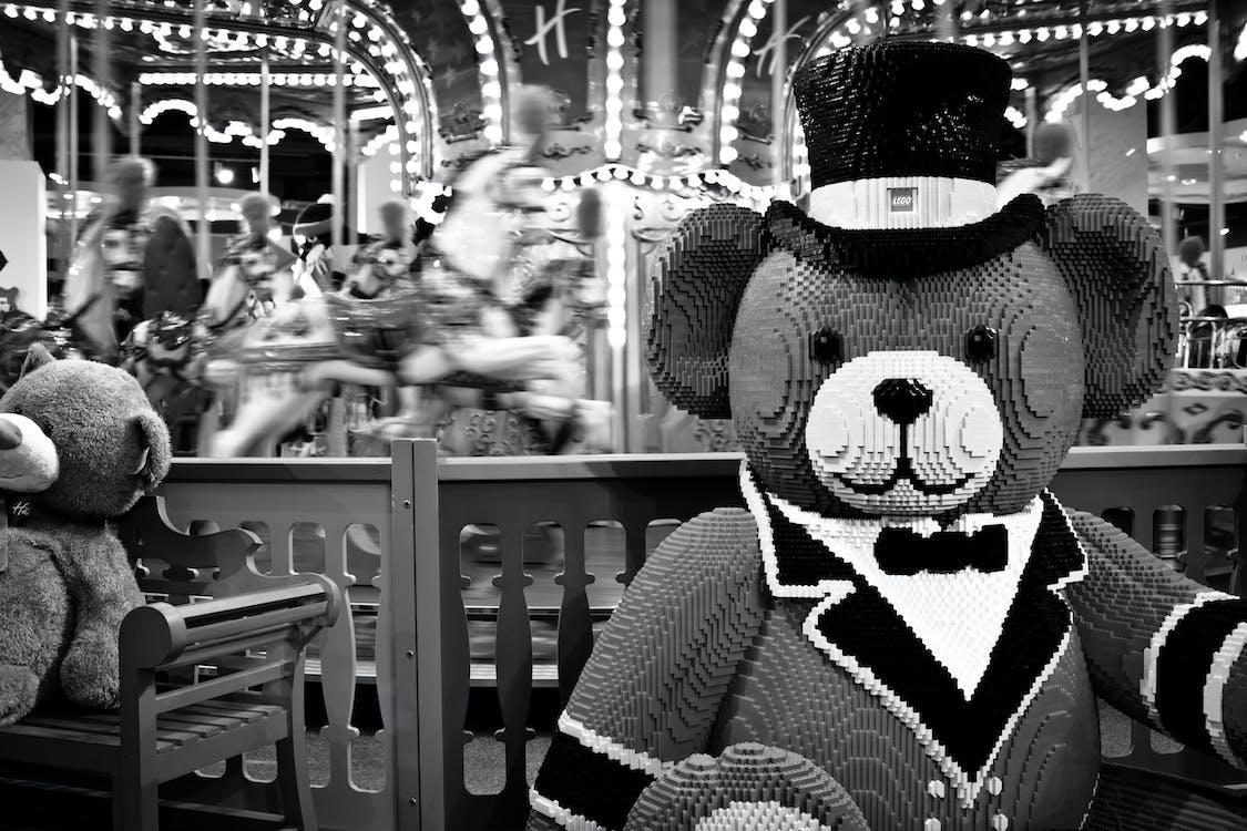 곰, 장난감, 장난감 가게