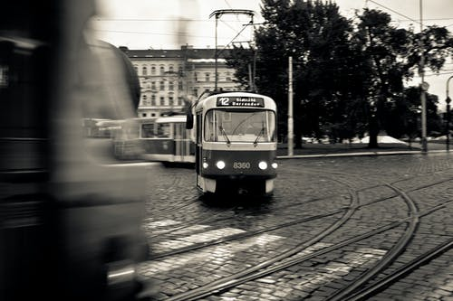 Free stock photo of prague, tram