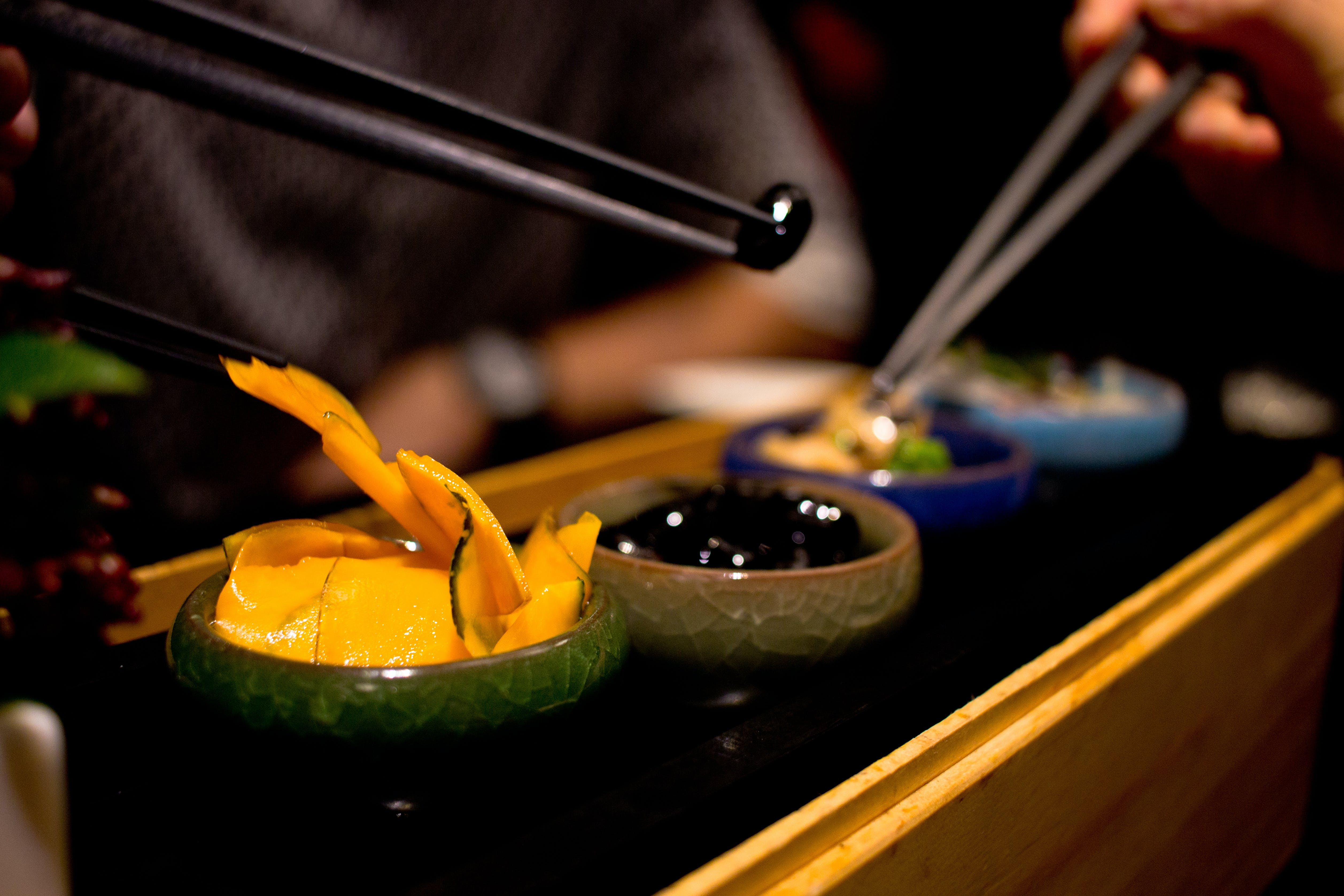 Free stock photo of asian food, fusion food, sushi