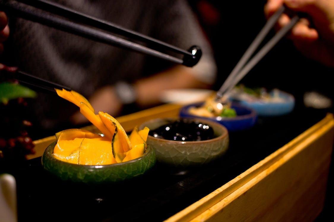 Азиатская кухня, суши, фьюжн еда