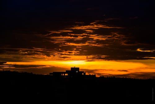 Photos gratuites de ciel, ciel rouge, coucher de soleil, fond d'écran