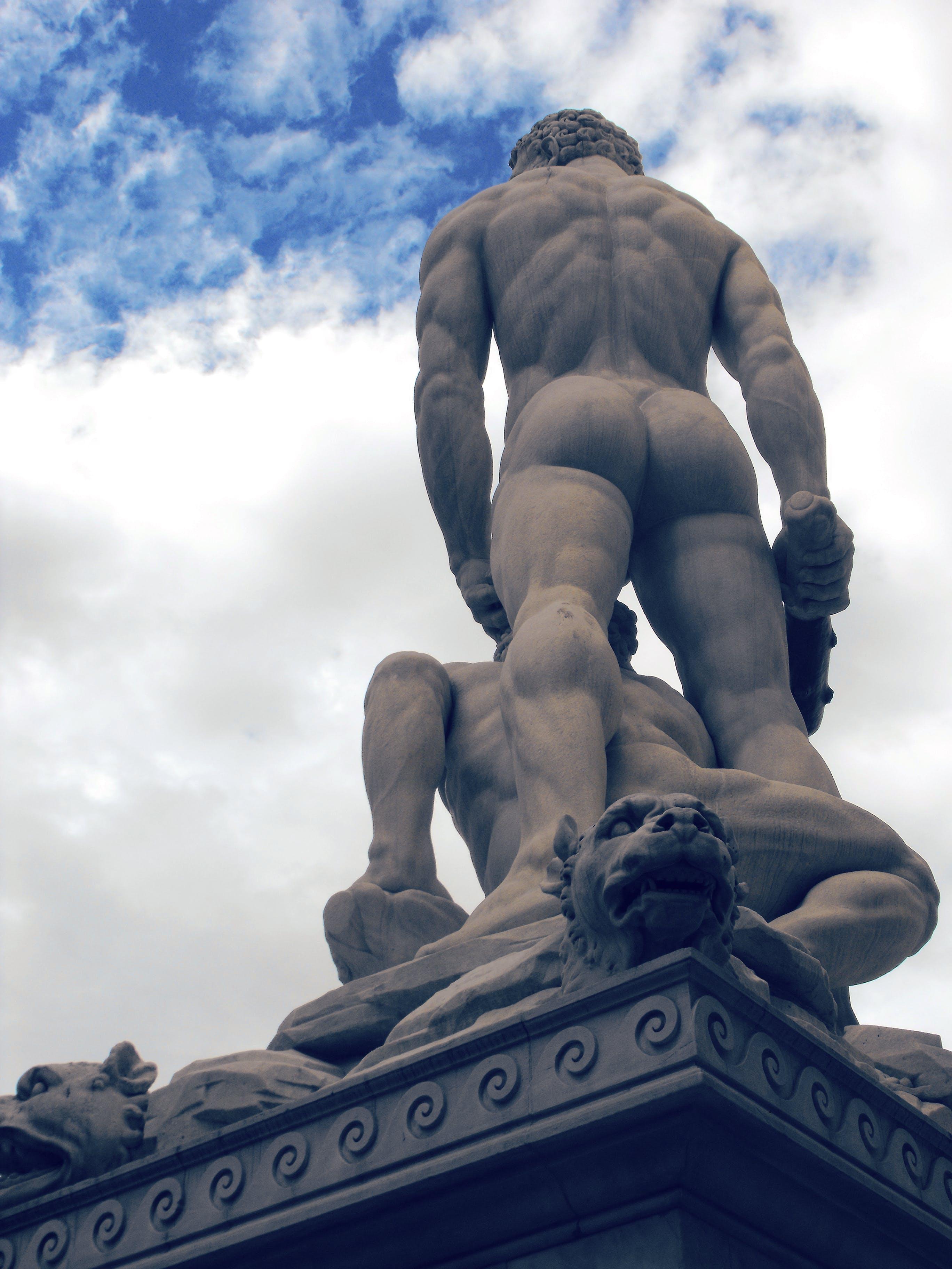 Free stock photo of back, david, david statue, florence