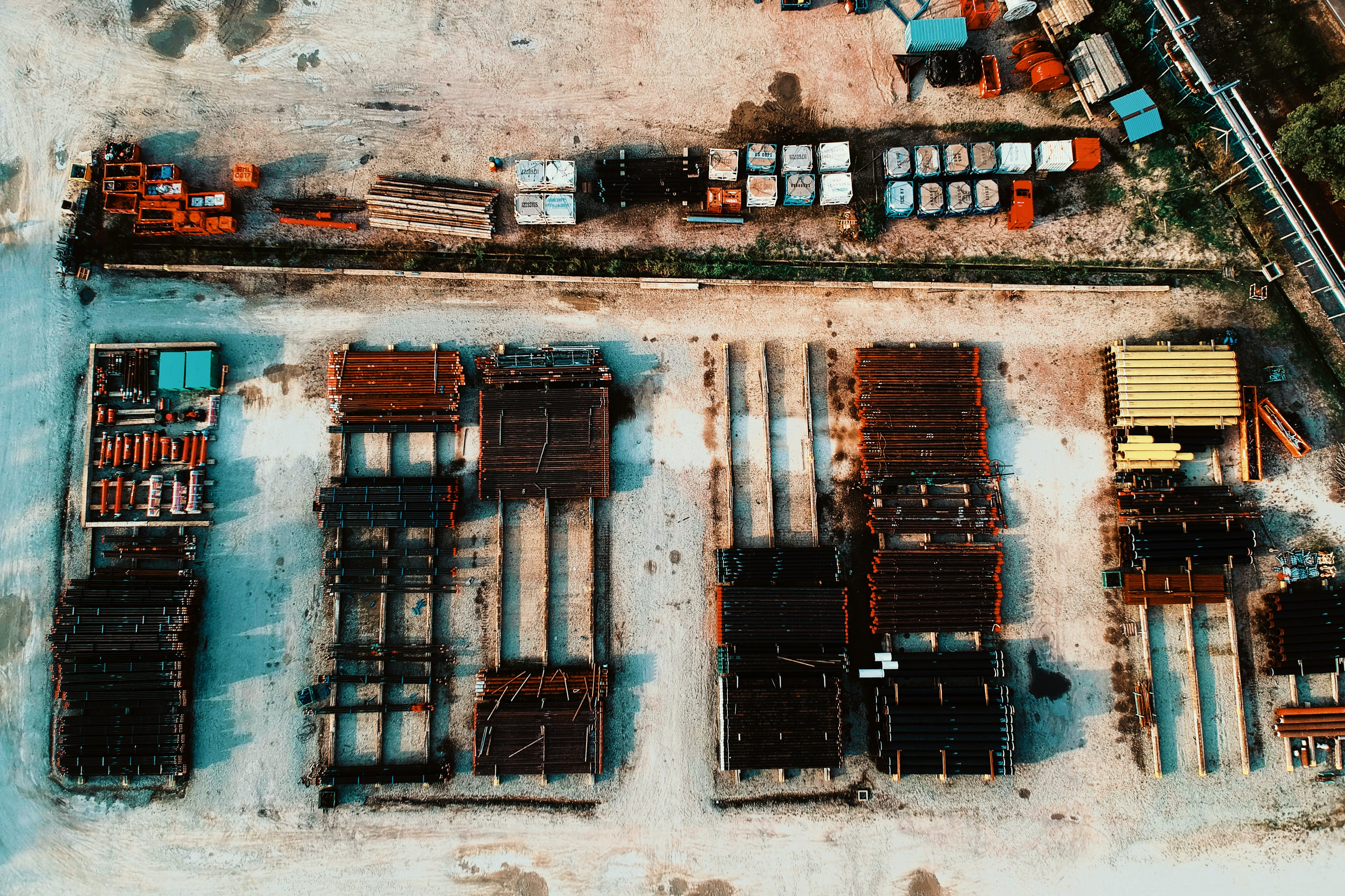 Aerial Photo of Buildings