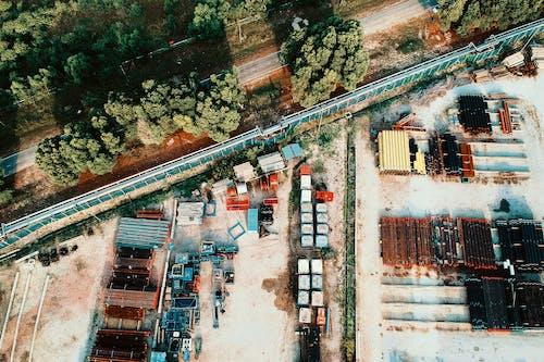 工業, 工業區, 日光, 樹木 的 免费素材照片