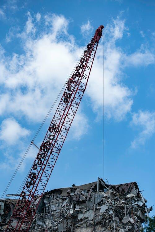 Foto profissional grátis de céu, construção, demolição, demolir