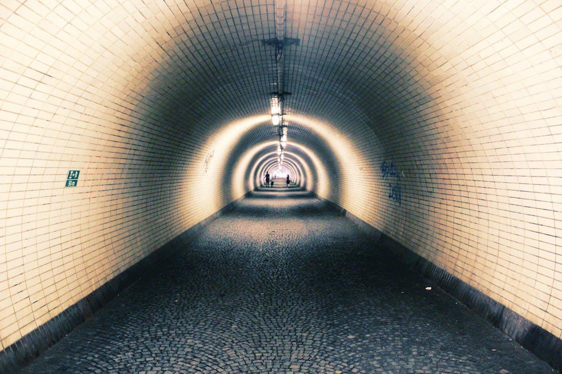 ánh sáng, hành lang, hiện đại