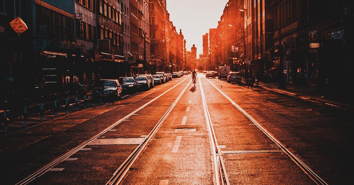 Картинка улица уходящая в даль