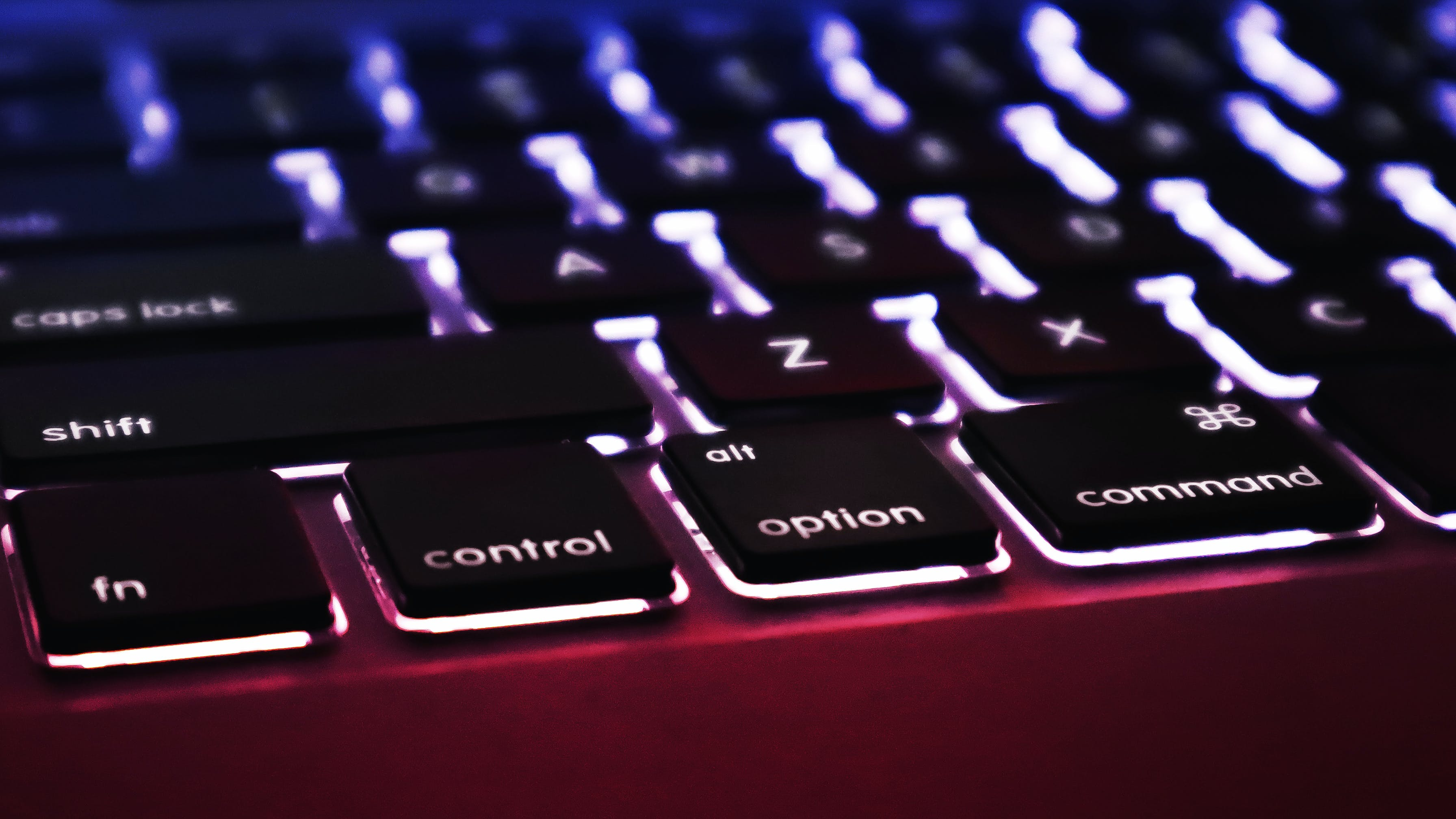 Free stock photo of #keyboard #keys #closeup #colorfull #bright #red, #office #work