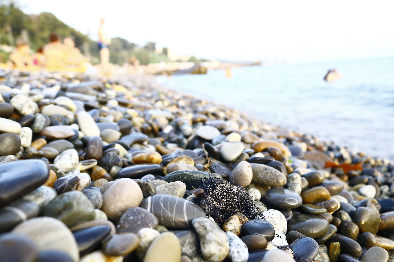 Foto stok gratis batu, bebatuan, kedalaman lapangan, laut