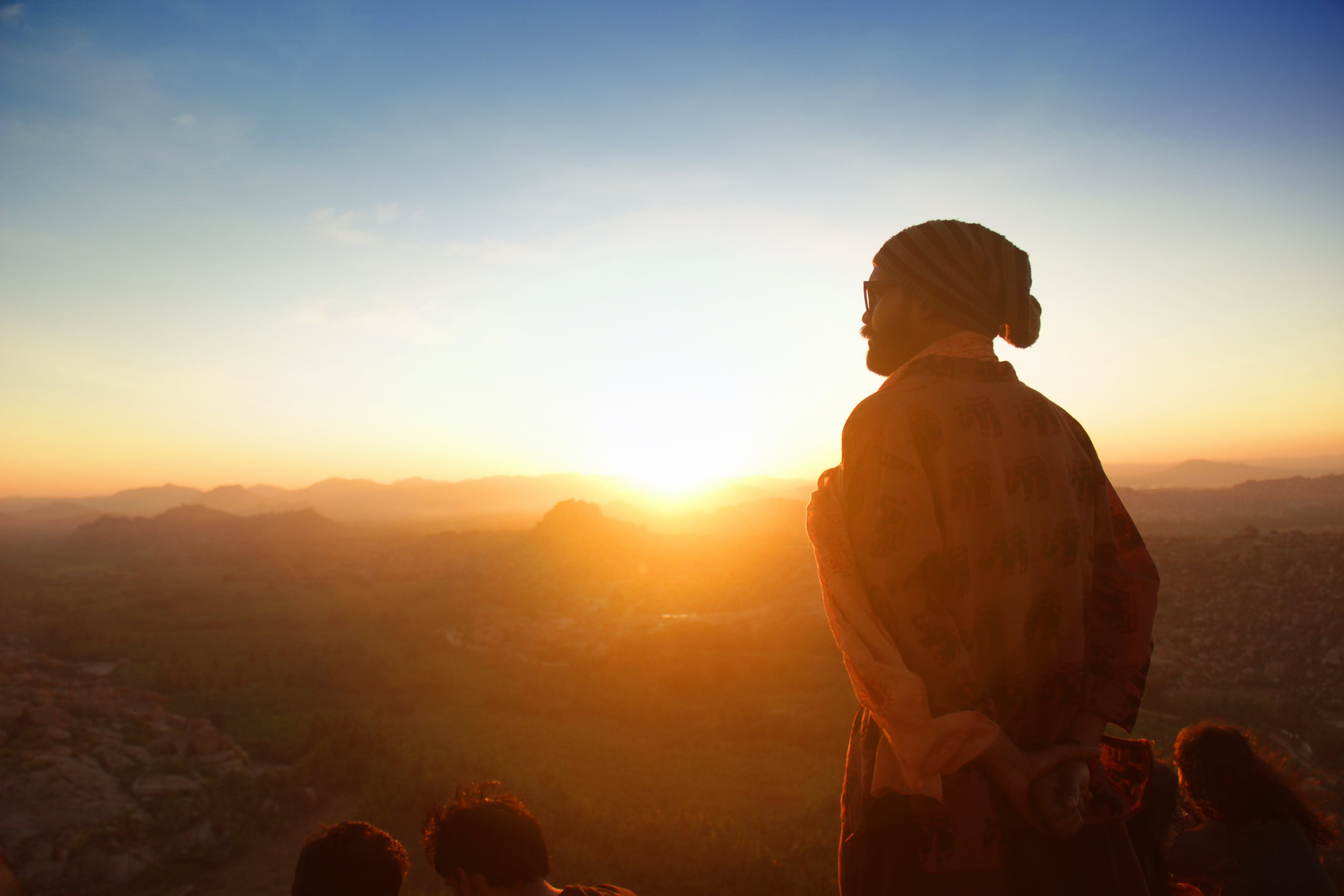 Free stock photo of adventure, asian boy, cap, early morning