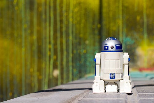 Free stock photo of r2d2, starwars, street, toys