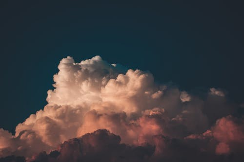 Free stock photo of blue, burst, cloudburst