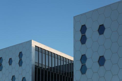 Ingyenes stockfotó ablakok, acél, építészet, építészeti terv témában