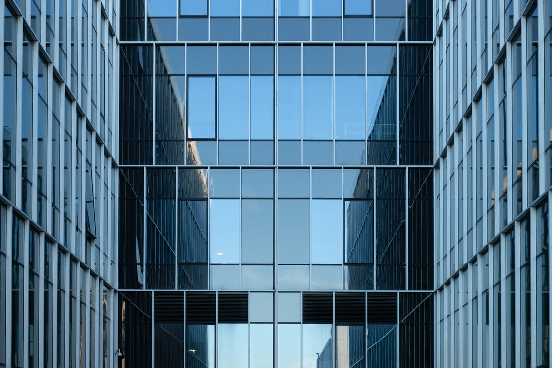 ablakok, acél, építészet