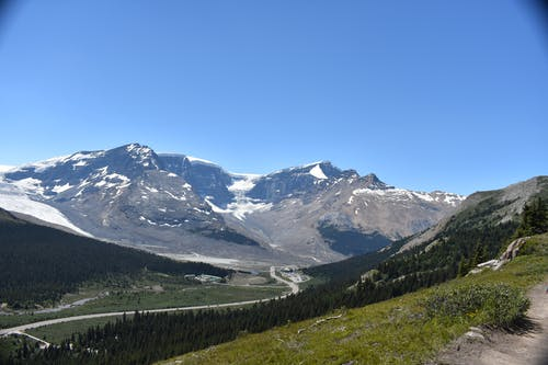 Gratis lagerfoto af bjerge, sneklædte bjerge
