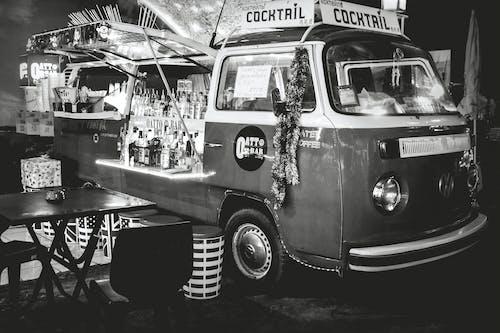 Бесплатное стоковое фото с vw bar, vw bus, бар, классический