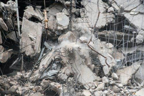Foto profissional grátis de bola de demolição, construção, demolir, destroços