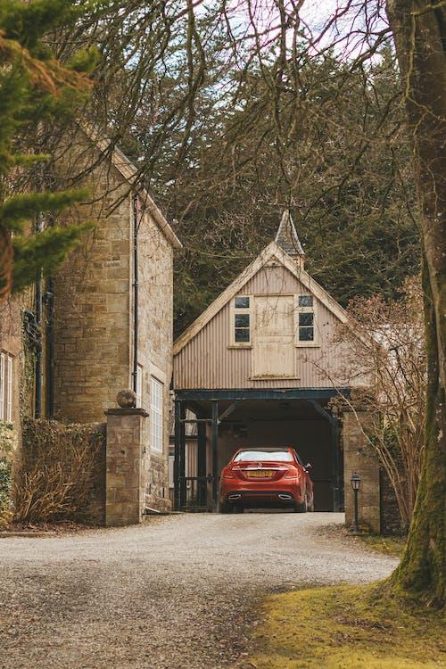 ajoneuvo, arkkitehtuuri, auto