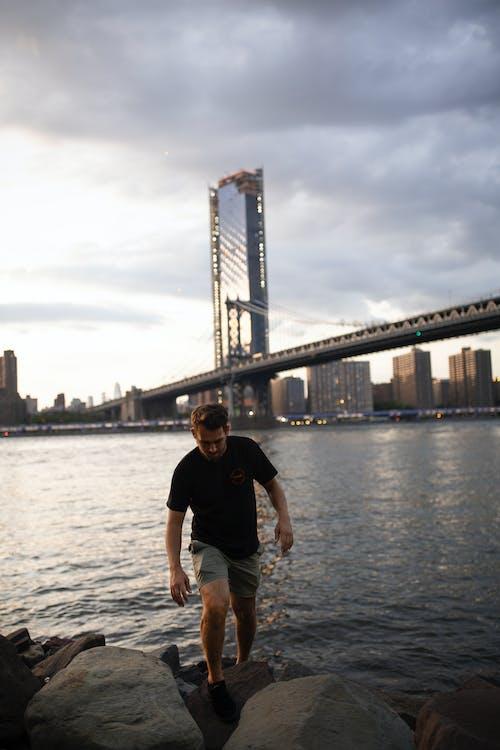 Free stock photo of adventure, brooklyn, brooklyn bridge, buildings