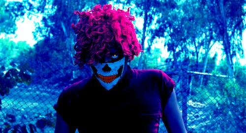 คลังภาพถ่ายฟรี ของ skully mba, กลางคืน, ตาแดง, มาส์กหน้า