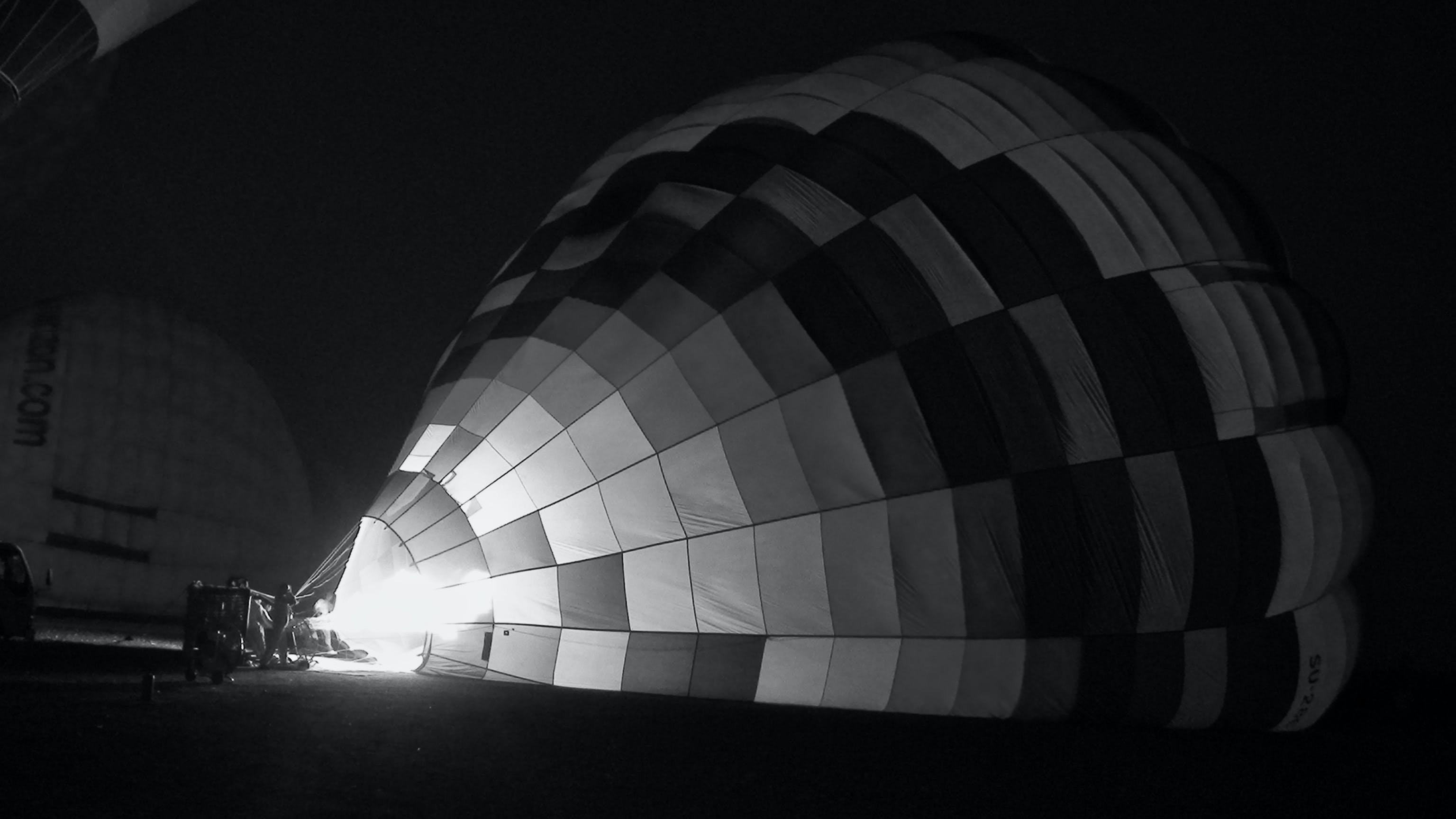 Free stock photo of hot air balloon