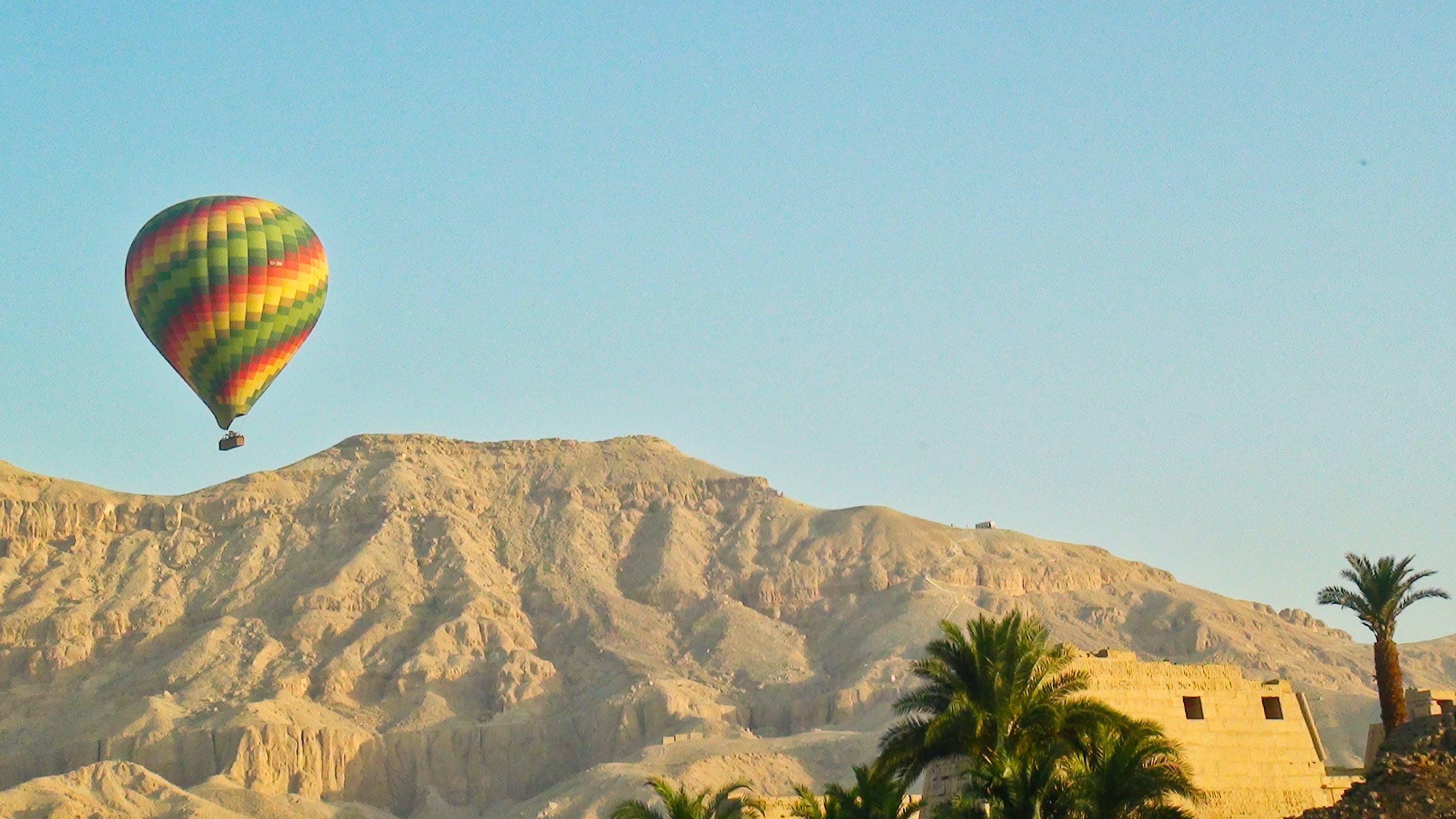Kostenloses Stock Foto zu heißluftballon