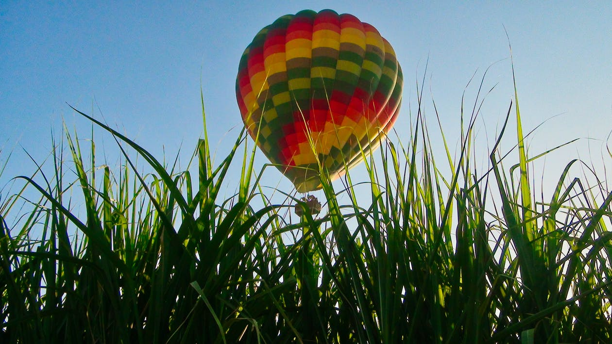 luftballong, varmluftsballonger