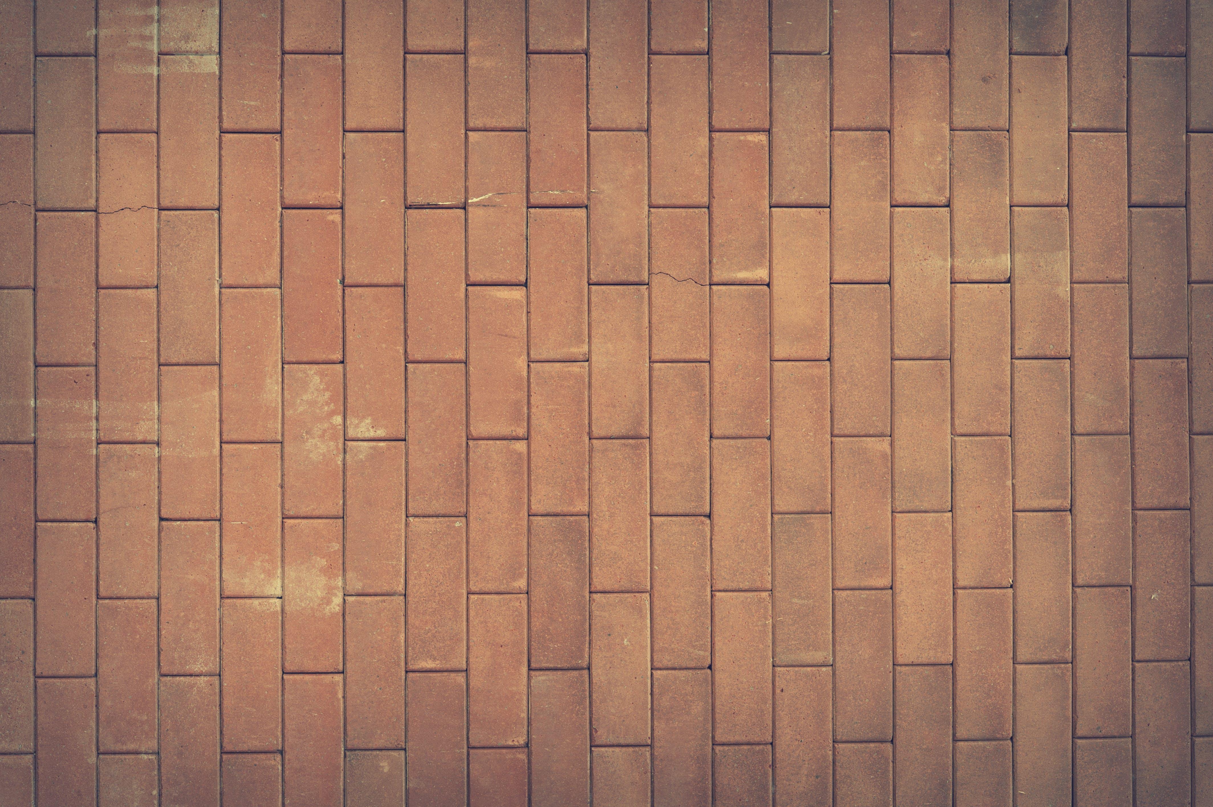 Brown Concrete Brick Wall