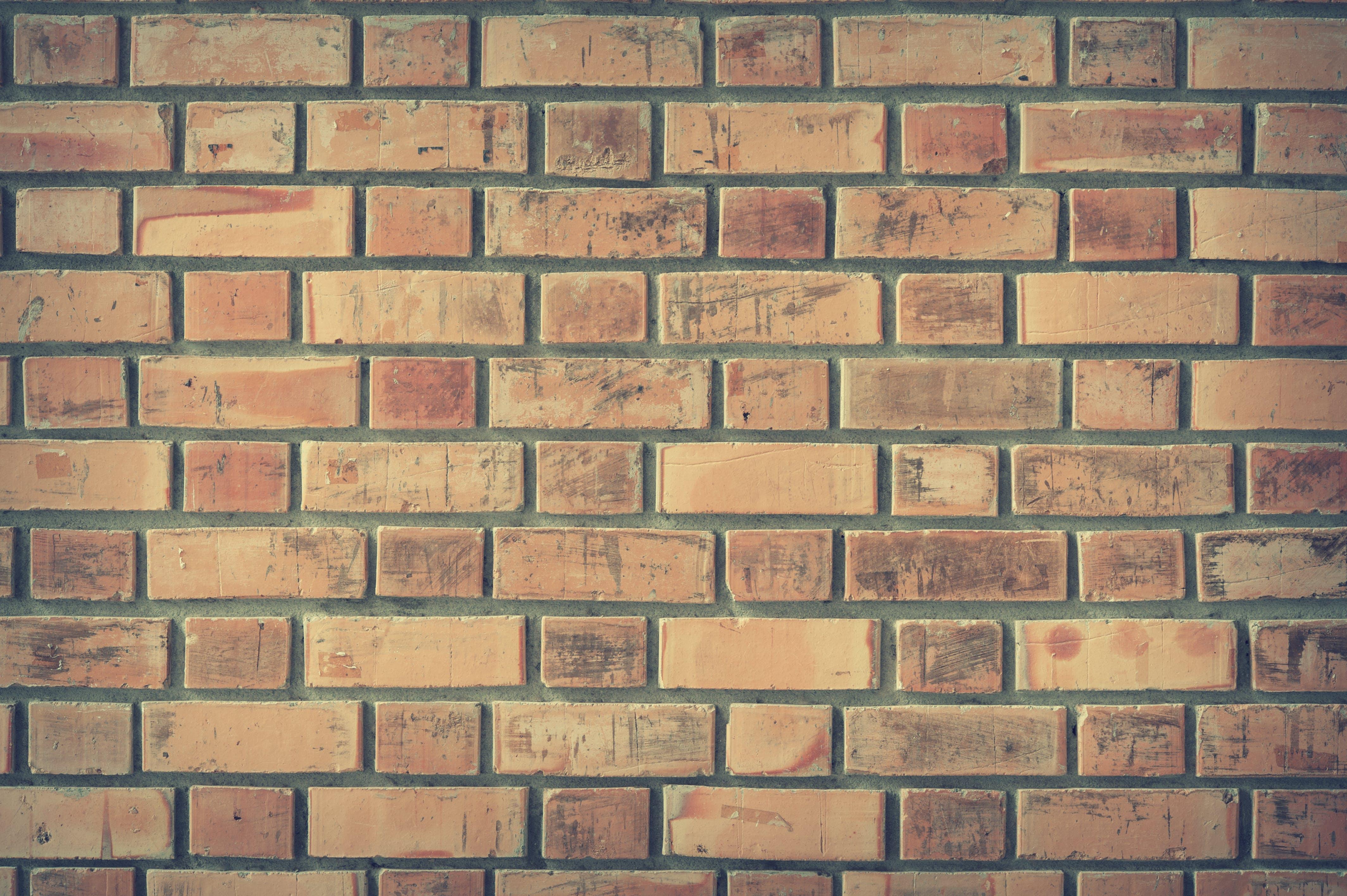 batu, batu bata, beton, cemar