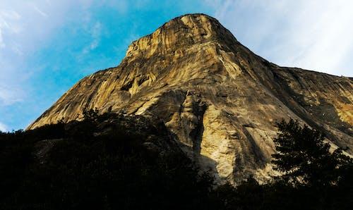 dik, el capitan, Kaya tırmanışı, kayalık Dağ içeren Ücretsiz stok fotoğraf