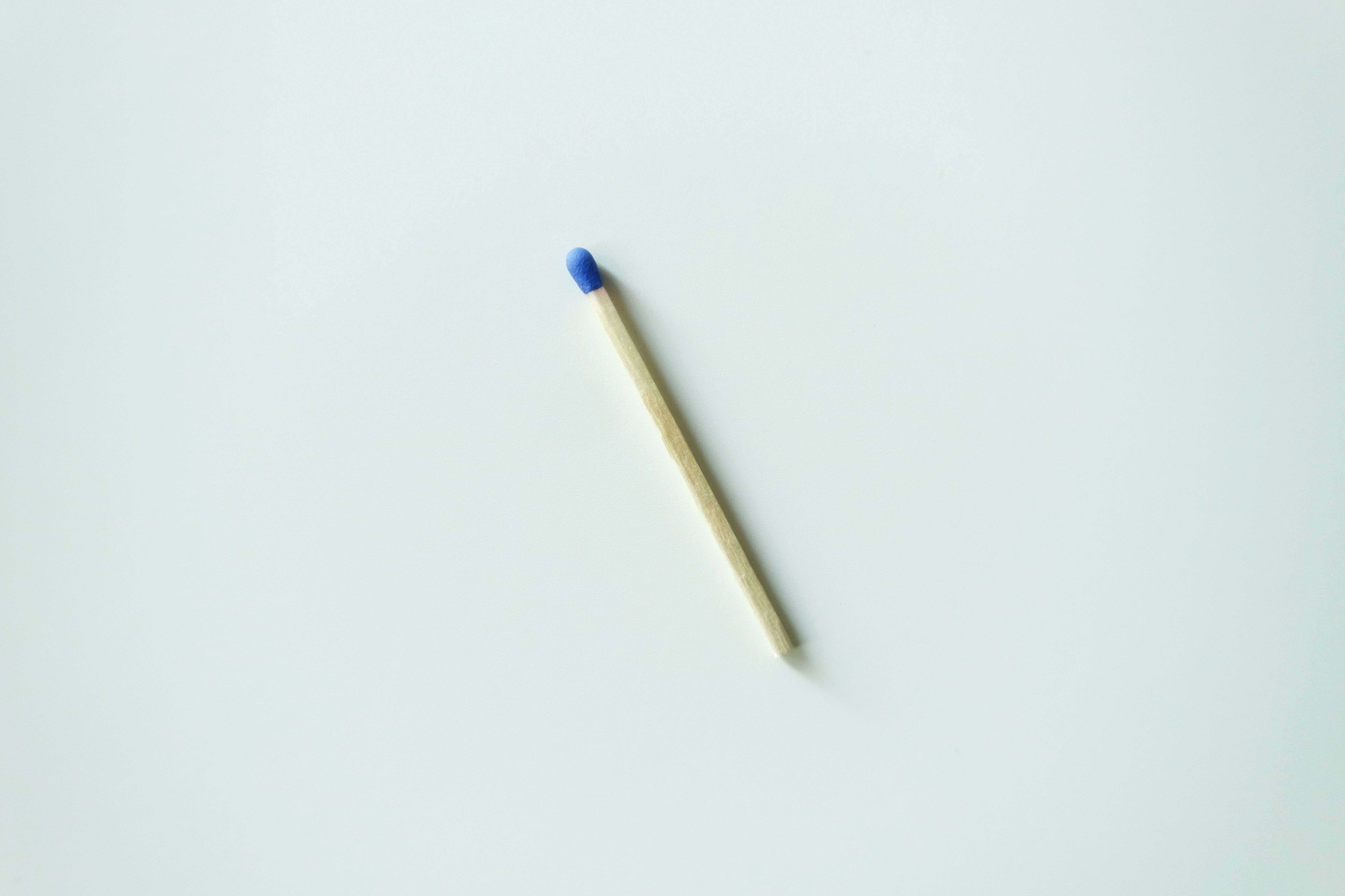 Matchstick On White Surface