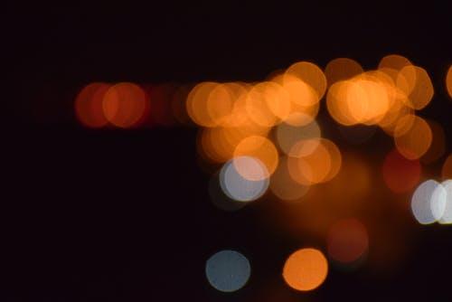 Immagine gratuita di defocalizzato, leggero, luci, luminoso