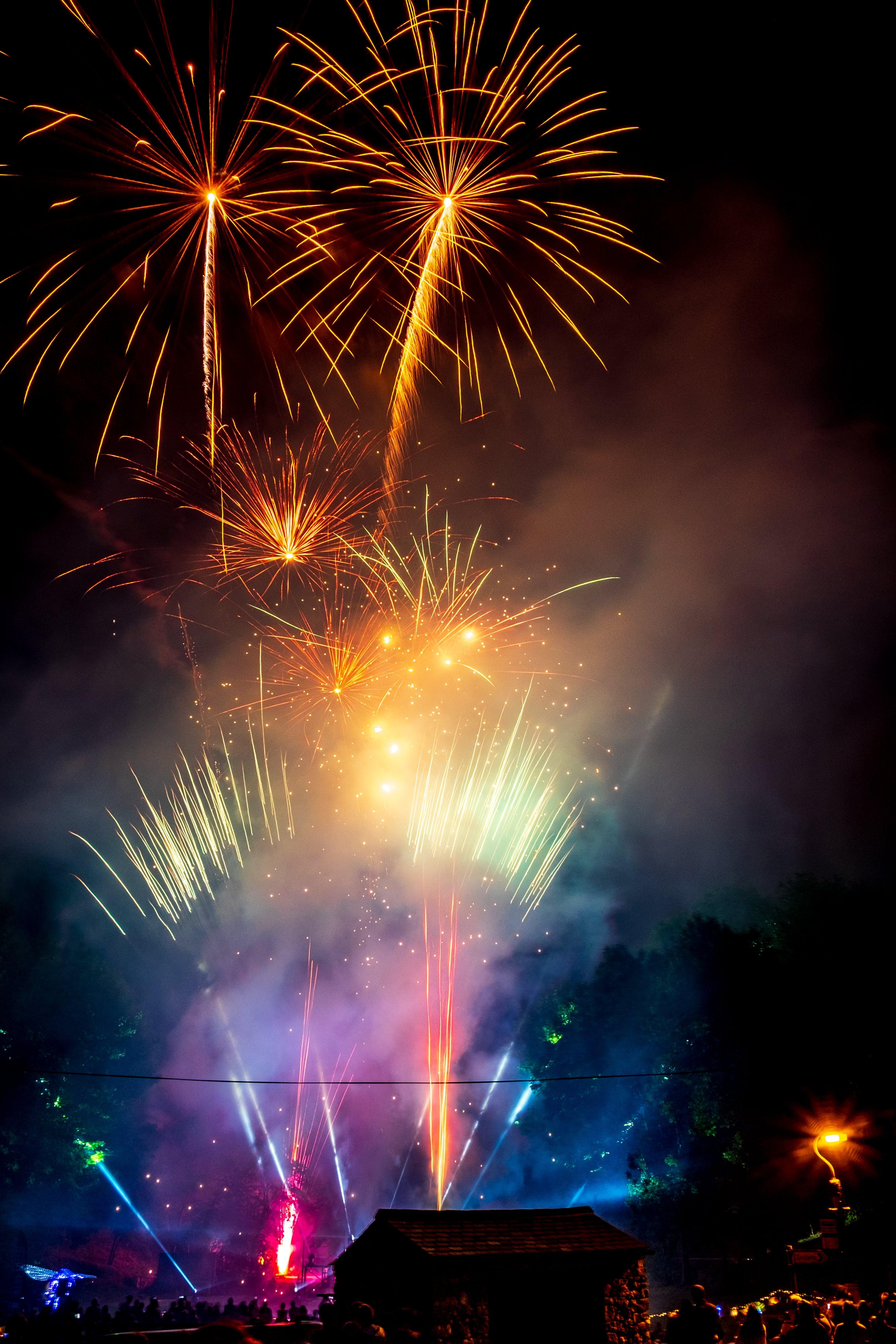 Fotobanka sbezplatnými fotkami na tému farebný, festival, noc, nový rok