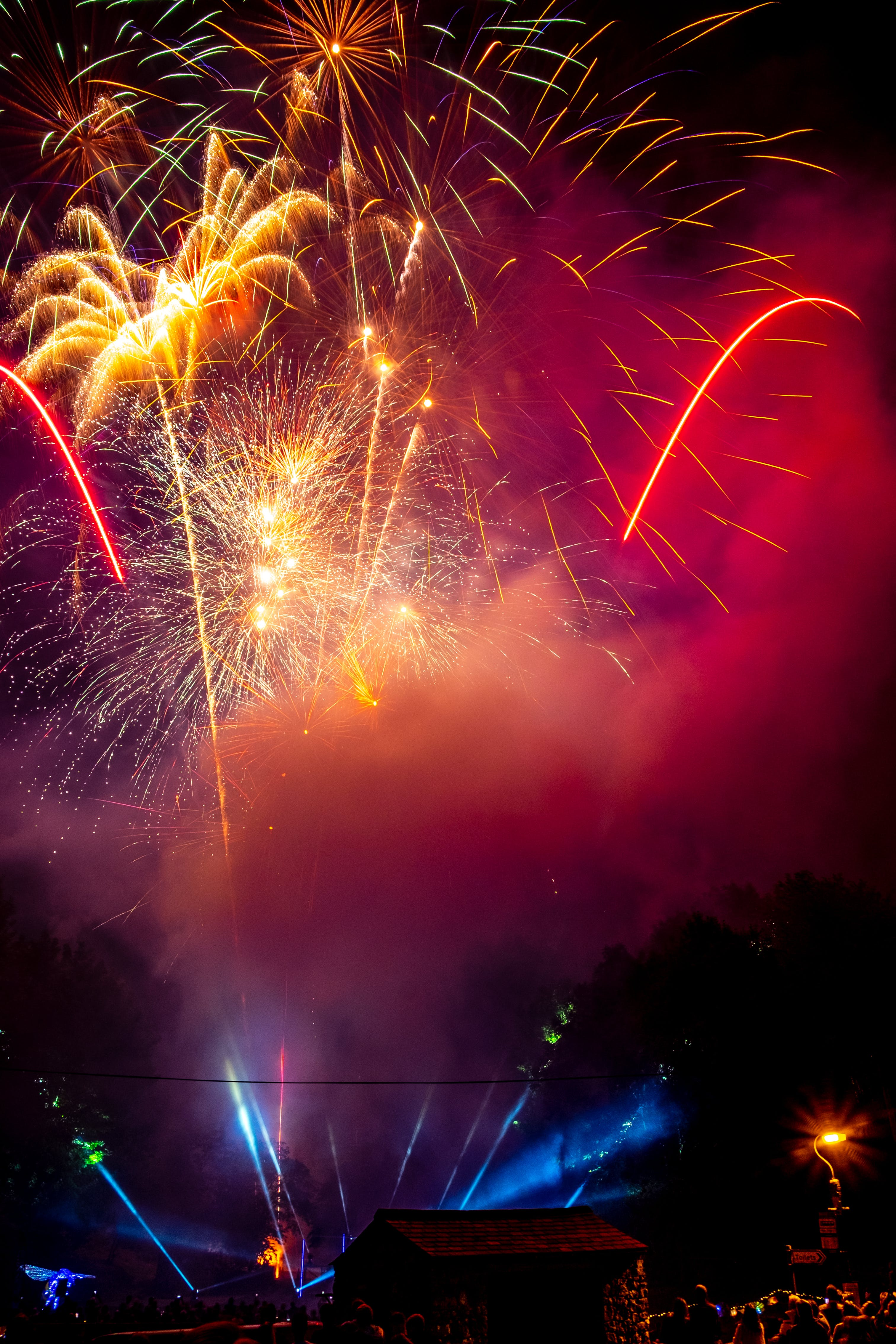 Kostenloses Stock Foto zu explosion, feier, festival, neujahr