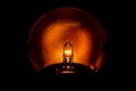 close-up view, lamp, led