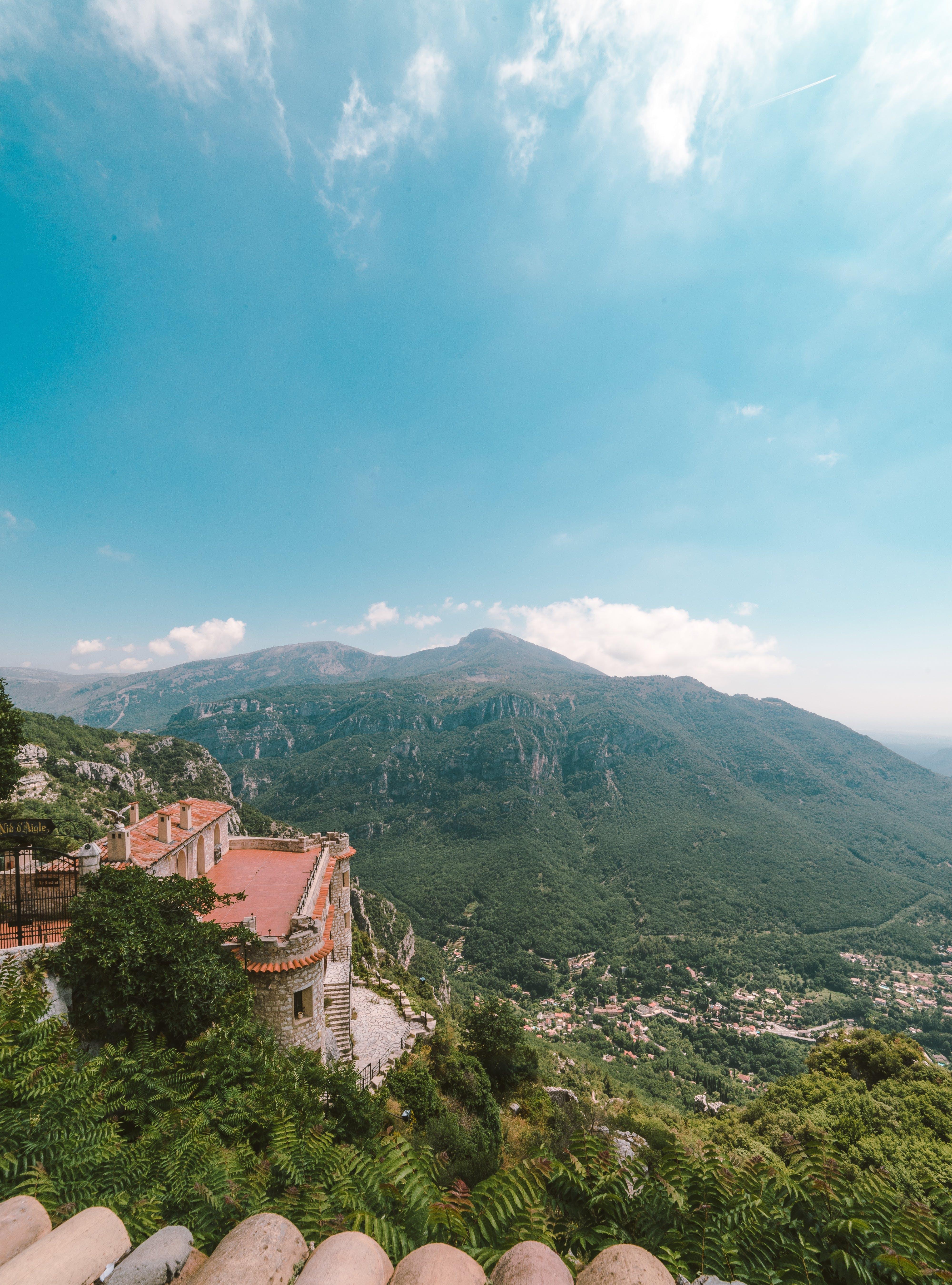 Kostenloses Stock Foto zu bäume, berge, blauer himmel, draußen
